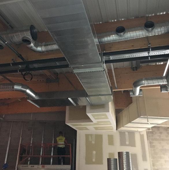 AYPHASSORHO nos métiers Réalisation d'un installation de traitement d'air