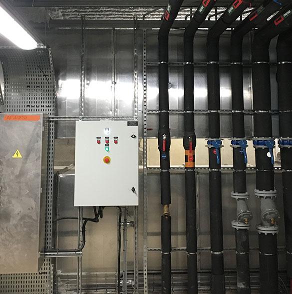 AYPHASSORHO nos métiers Réseau hydraulique, chauffage et eau glacée